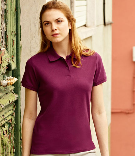 Polo donna Premium Fruit of the Loom
