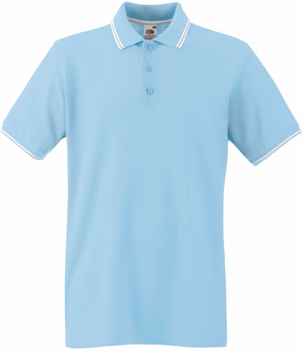 Polo Fruit of the Loom Tipped