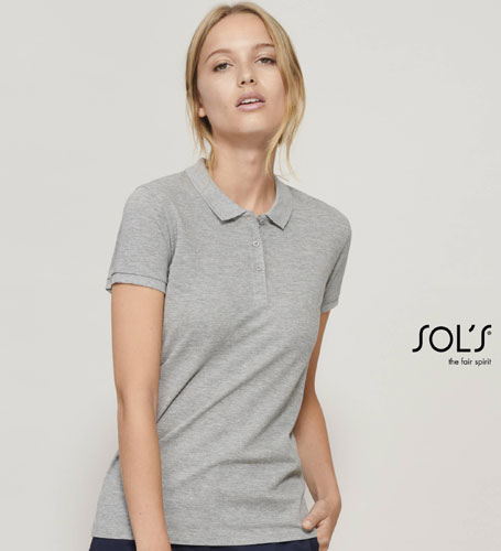 Polo donna cotone organico Sol's Planet Women
